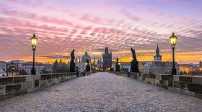 Charles Brdige bei Sonnenaufgang Lizenzfreie Stockbilder