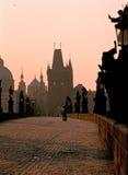 Charles Bridge à Prague Photographie stock libre de droits