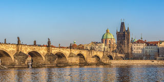 Charles Bridge à Prague Images stock