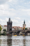 Charles Bridge à Prague image stock