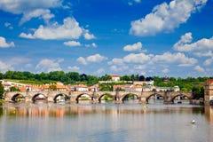 Charles Bridge Royalty Free Stock Images