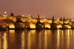 Charles bridge Royalty Free Stock Photography