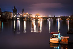 Charles Bridge Stock Afbeeldingen