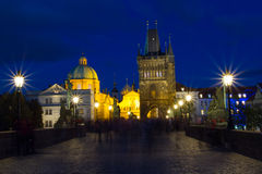 Charles bridge royalty free stock image