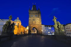 Charles Bridge Lizenzfreies Stockfoto