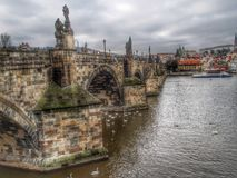 Charles Bridge Stockfotos