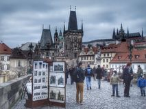 Charles Bridge Stockbild