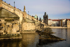 Charles Bridge Images libres de droits