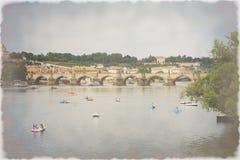 Charles Bridge Royalty-vrije Stock Afbeeldingen