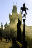 Charles Bridge 01 Arkivbild