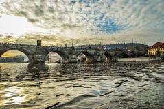 Charles Bridge fotografia stock