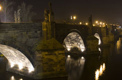 Charles Bridge Royalty Free Stock Images