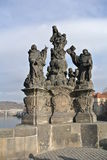 Charles Bridge Royalty-vrije Stock Foto's