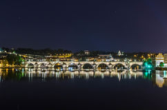 Charles Bridge Stockfoto