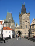 Charles Bridge & torens Royalty-vrije Stock Foto