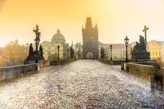 Free Charles Bridge And Mala Strana, Prague, Czech Republic Royalty Free Stock Image - 102885836