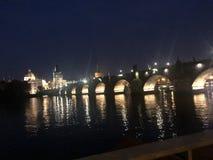 Charles Bridge av praha royaltyfri foto