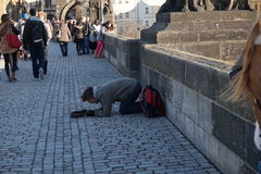 Charles bridge Stock Photography