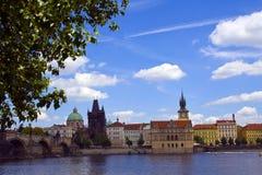 Charles Bridge, Czech Republic Stock Photography