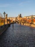 Charles Bridge in Czech Republic Stock Image