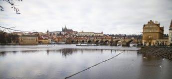 Charles Bridge, Czech Republic, Prague Royalty Free Stock Photos