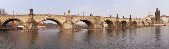 The Charles Bridge royalty free stock photo