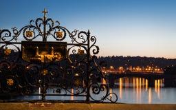 Charles Bridge at Dawn, detail Royalty Free Stock Image