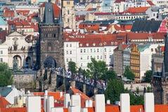 Charles Bridge em Praga Imagem de Stock Royalty Free