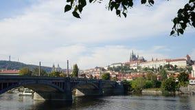Charles Bridge Karluv maggior parte di Praga Immagini Stock