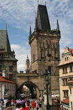 Charles Bridge_Little Quarter side tower_II Royalty Free Stock Image