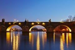 Charles bridge Royalty Free Stock Photography