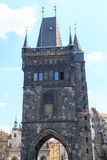 Charles Bridge Old Town-Brückenturm, Prag Lizenzfreie Stockfotografie