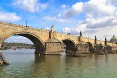 Charles Bridge, Praag royalty-vrije stock fotografie