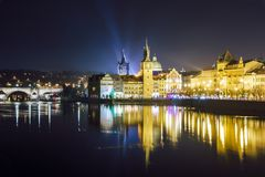 Charles Bridge, Prag stockfoto