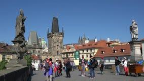 Charles Bridge a Praga archivi video
