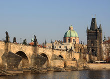 Charles Bridge, Praga Fotografia Stock