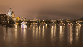 Charles Bridge, Praga Foto de Stock
