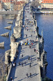 Charles Bridge, Praga Fotografie Stock Libere da Diritti