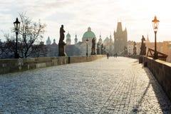 Charles Bridge, Praga fotografia stock libera da diritti