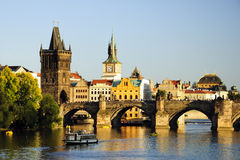 Charles bridge, Prage Royalty Free Stock Photography