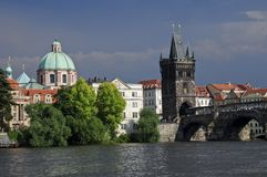 Charles Bridge Prague Royalty Free Stock Photos