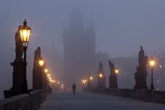 Charles Bridge in Prague Royalty Free Stock Photo