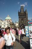 Charles Bridge, Prague Stock Images
