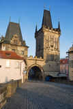 Charles bridge, Prague Royalty Free Stock Photography