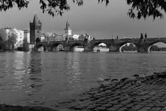 Charles Bridge, Prague Stock Photo