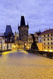 Charles Bridge- Prague Royalty Free Stock Photo