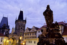 Charles Bridge- Prague Stock Photography