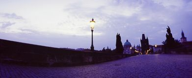 Charles Bridge- Prague Stock Images