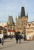 Charles Bridge, Prague Stock Image