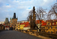 Charles bridge. Prague Royalty Free Stock Photo